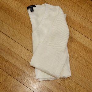 Knit Bell-Sleeve V-Neck Sweater